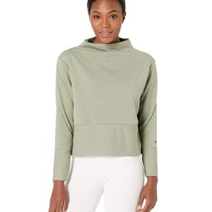 Nike • NEW Mock Neck Long Sleeve Top
